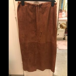 Fabulous suede skirt!  Great quality!